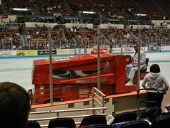 Zamboni (Travis S.) Tags: green ice hockey driving southcarolina charleston echl stingrays zamboni northcarlestoncoliseum