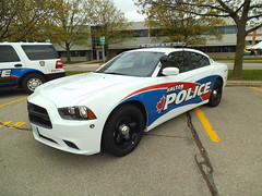 Halton Regional Police Dodge Charger (car show buff1) Tags: rescue ontario canada ford logo chief tahoe police victoria crest chevy dodge crown ladder squad incident ems charger pursuit commander caprice pumper ppv battalion halton f250