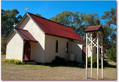 St Oswald's Anglican church (Leonard John Matthews) Tags: church rural faith australia belltower queensland christianity spiritual anglican stoswalds ballandean mythoto