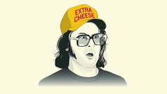 Frank's Hat (Kyle J. Letendre) Tags: portrait rock 30 illustration 30rock tinafey judahfriedlander frankrossitano