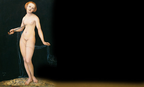 """Venus y Cupido, versiones de los Cranach, el Viejo (1529) maestro fundador de la escuela flamenca, interpretaciones y paráfrasis de Pablo Picasso (1957). • <a style=""""font-size:0.8em;"""" href=""""http://www.flickr.com/photos/30735181@N00/8747890136/"""" target=""""_blank"""">View on Flickr</a>"""