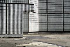 (Delay Tactics) Tags: light white cinema grid gate fiesta mesh top sheffield angles tiles walls roxy rank academy mondrian odeon arundle steelys