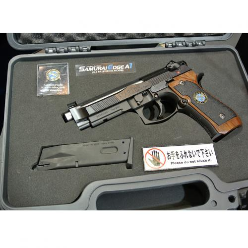 惡靈古堡限定模型槍SAMURAI EDGE A1販售情報公開!
