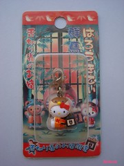 Hello Kitty Gunma Shitakiri Suzume limited mascot-2007. (HKTESSA) Tags: cute japan toy tokyo hellokitty kitty charm sanrio mascot collection kawaii strap netsuke fastener  gotochi