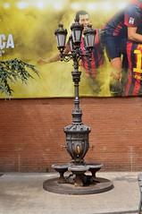 FONT DE CANALETES A LES INSTALLACIONS DEL FUTBOL CLUB BARCELONA (Yeagov C) Tags: barcelona font catalunya bara estadi futbolclubbarcelona fontcanaletes