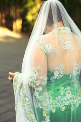 (Bindaas High) Tags: wedding light lauren green indonesia 50mm amazing veil dress journey mywork lovely incredible indo greendress fixed50 artistsontumblr photographersontumblr bindaashigh