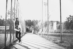 Anastasia (KirillSokolov) Tags: portrait sun girl 50mm nikon russia stadium nikkor goodmorning       2013  porusski d3s 5014g sokolovkirill