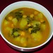 Spanish Potato, Chard & Garbanzo Bean Soup