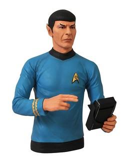 星際爭霸戰 企業號大副「史巴克」存錢筒