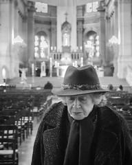 Lady (Daniele Zanni) Tags: paris france church lady syymza danielezanni