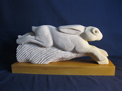 "Running Hare stone carving 017 • <a style=""font-size:0.8em;"" href=""http://www.flickr.com/photos/64357681@N04/9345014294/"" target=""_blank"">View on Flickr</a>"
