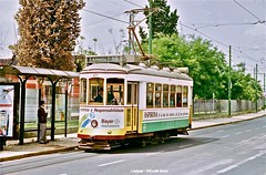 Santos (ernstkers) Tags: carris ccfl lissabon lisboa lisbon portugal tramvia tram tranvia trolley streetcar 577 ccfl577 eléctrico strasenbahn lisbonne bonde spårvagn