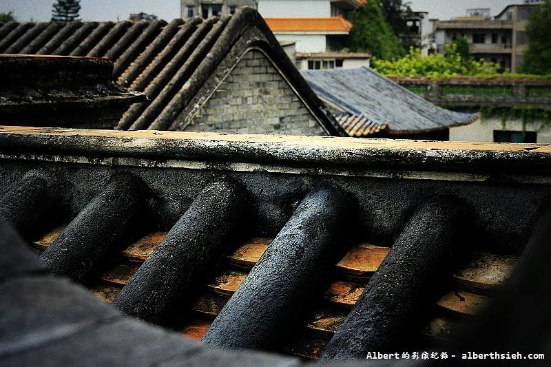 【古宅園林】廣東東莞_歷史悠久而斑駁的瓦片