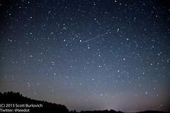 Ursa Major and Perseid Meteor