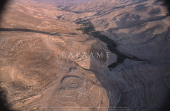 Conder's Circle (APAAME) Tags: condorscircle flight1 flying2006 scannedfromslide aerialarchaeology aerialphotography middleeast airphoto archaeology ancienthistory