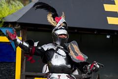The Knights (jamesdonkin) Tags: portrait public costume leeds medieval tournament knight armour jousting royalarmouries platemail historicalgarb sengeorge fullplatearmour