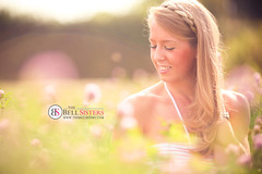 Portrait in Red Clover Field (Sasha L'Estrange-Bell) Tags: summer portrait redclover sashabell oliviabell sashabellphotography