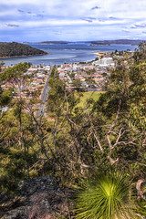 View of Ettalong (Puresilk Images (AWAY)) Tags: sea beach canon landscape coast boat bush view harbour central sigma australia lookout nsw shrub fusion 18 centralcoast ettalong 1835 70d eos70d