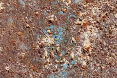 Corrosion (gripspix (catching up slowly)) Tags: blue texture tin rust paint tunisia djerba blau rost farbe blech tunesien textur 20130621