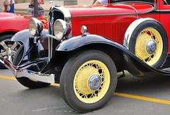 Brampton Ontario - Dominion Motors  Frontenac c1930 restored classic car. (edk7) Tags: auto ontario canada detail classic car vintage automobile downtown restored vehicle 2008 brampton frontenac d300 c1930 edk7 dominionmotorsltd