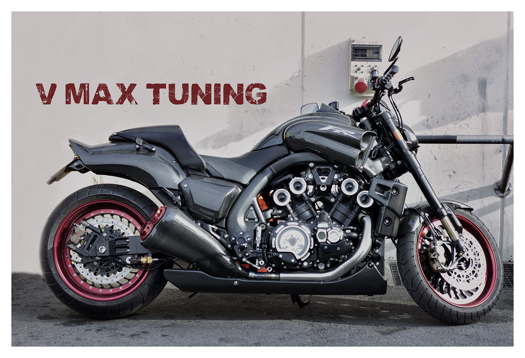 Yamaha V Max Tuning In Montmelo Samus46 Tags Espana Spain Catalunya