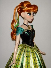 Anna Limited Edition 17'' Doll - LE 2500 - Frozen - US Disney Store Purchase - First Look - Deboxed - Standing - Midrange Left Front View (drj1828) Tags: anna standing frozen us doll release purchase limitededition disneystore firstlook 17inch posable productinformation deboxed le2500