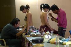 Ulyses CasBal y Samuel Torres Briones en Accin - Pintura Corporal (Body Paint) - Izcar de Matamoros - Puebla - Mxico (Luis Enrique Gmez Snchez) Tags: mexique messico