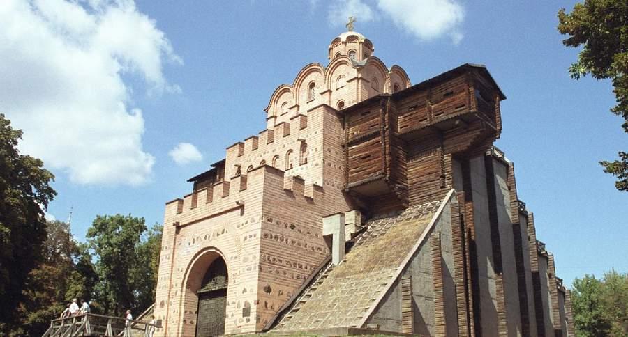Золотые ворота в Киеве, реконструкция