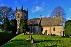 St Peter's Church, Upper Slaughter (Paula J James) Tags: england stpeters english church churches cotswolds gloucestershire stpeterschurch 12thcentury upperslaughter theslaughters englishchurch