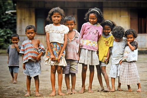 Indonesia - Flores - Bena - Children