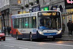 27800 SV12CZK Stagecoach Bluebird (busmanscotland) Tags: london ad games e300 bluebird 300 olympic alexander dennis stagecoach 2012 enviro adl 27800 e30d sv12czk