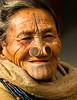 Apatani onlooker (rob of rochdale) Tags: tattoo culture custom neindia northeastindia apatani noseplugs robofrochdale robhaich