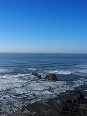 P1240017 (benguernsey) Tags: ocean cliff beach oregon pacific astoria cannonbeach oswaldwest shortsands traveloregon