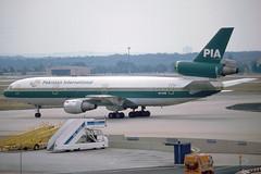 Pakistan International Airways DC10-30 AP-AYM (Manfred Saitz) Tags: pia mcdonnell douglas dc10 d10 frankfurt airport fra eddf apaym apreg