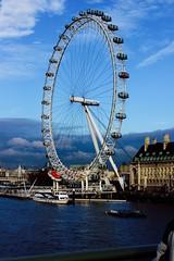 image (Becca2810) Tags: city sky london eye landscape boat londoneye