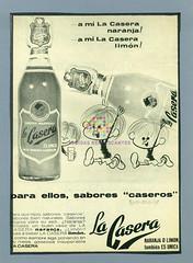 """La Casera. """"Para ellos, sabores caseros"""". 1969"""