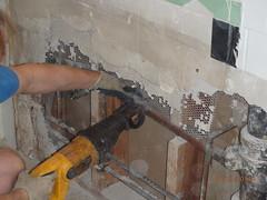 January 2, 2014 (osseous) Tags: bathroom sink demolition plumber leak 2014january
