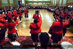 RCMP Burns Night 2014 (Carol.C) Tags: canada green canon drums edmonton pipes scottish burns alberta rcmp bagpipes robbie mkii 2014 carolchan kdivision jan252014 rcmpregimentalpipesandband