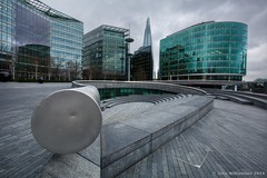 The Scoop (JohnWill1970) Tags: london southbank shard scoop