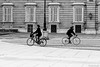 (Sonia Montes) Tags: madrid byn blancoynegro canon calle gente streetphotography paseo bici urbana palacioreal byw
