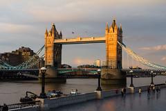 Tower Bridge London in sunset (Jon Bagge) Tags: bridge sunset england london thames towerbridge river rainbow unitedkingdom 2014 impressedbeauty canoneos60d globalaward sigma35mmf14dghsmart jonbagge globalaward2014