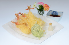 Ebi Tempura กุ้งเทมปุระสุดอร่อย [Tenwa Restaurant]