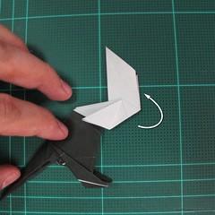 วิธีการพับกระดาษเป็นรูปจิงโจ้ (Origami Kangaroo) 032