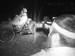Behind the Scenes As Guy Is Filming The WooFDriver's Dream Of Midnight MUSHing!