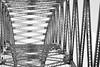 Metal (A Crowe Photography) Tags: bridge blackandwhite metal 50mm blackwhite northwest structure runcornbridge