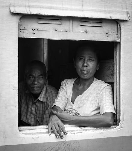 Elderly Burmanese Couple