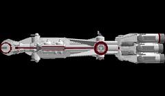 Tantive IV 1s=m: Side (picardsbricks) Tags: starwars lego cr90 tantiveiv