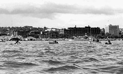 First Annual Bathtub Derby, 1970 (TBayMuseum) Tags: ontario canada history sports boats harbour trainstation boating lakesuperior thunderbay businesses portarthur kiwanisclub bathtubderby touristpagoda