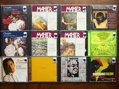 12 CD's (Piano Piano!) Tags: musician digital artwork album vinyl collection record sleeve hoes 12inch compactdisc mccoy vynil mcdaniel 678 hulle luxon greendaydookie somary haefliger mahlersymphonyno2 gramophonerecordplattediscvinyllplangspeelplaatklassiekclassicalclassique grammofoonlangspielplatte chopinnocturnesvol12 bachmatthauspassionameling finnilae wibisoerjaditouchofromance glasskundun steviewonderconversationpeace slyrobbiefriends recordalbumdisclpvinylvynil12inch cddisquediscsilbersilverartcoveralbum coverarthoeshulle12inch discdisquerecordalbumlplangspeelplaatgramophoneschallplattevynilvinyl