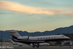 N725AF Gulfstream 550 Vulcan Aircraft Inc (KSBD Photo) Tags: airport bur aircraft vulcan burbank inc bobhope gulfstream 550 g550 kbur glf5 n725af